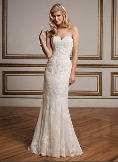 Justin Alexander Wedding Dress 8830