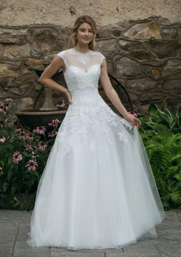 Sincerity Gown 44050 - Front View